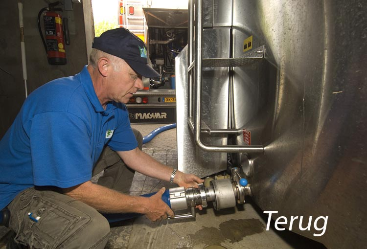 08-05-2009 Friesland Campina: Varsseveld - RMO: Rijdende Melk Ontvangst. Nieuwe melkwagen met nieuw logo Friesland Campina http://www.rubenschipper.nl foto: Ruben Schipper © Ruben Schipper Fotografie VOF